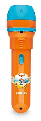 Philips Disney Planes LED Taschenlampe mit Projektor, orange 717885316