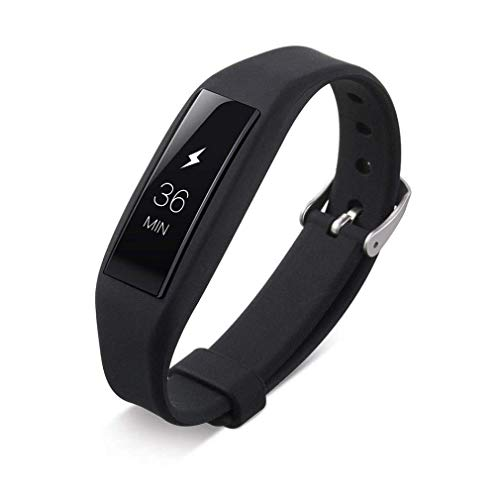 Fashion Clearance! Noopvan Fitbit Alta Replacement Band,Classic Adjustable Wristband, Silicone Sport Straps Bracelet with Metal Clasp for Fitbit Alta (Black) by Noopvan Strap (Image #1)