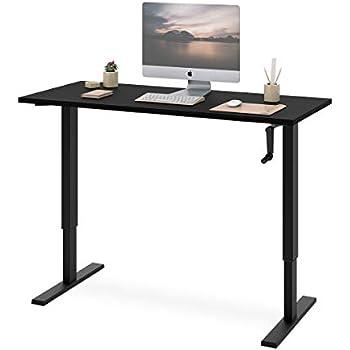 Amazon Com Devaise Standing Desk 55 Quot Adjustable Sit To