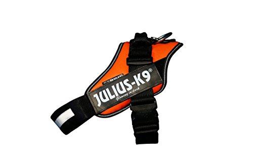 Julius K9 16IDC-FOR-1 IDC Power Harness, Size: 1 (63-85cm/26-33.5'), UV Orange
