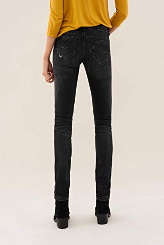 Up Borchie Salsa Nero In Shape Denim Jeans Con gOqEY