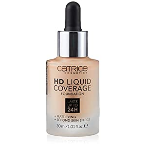 Catrice Maquillage HD Liquid Coverage Fond de teint Rose Beige 20 (1 x 150 g)