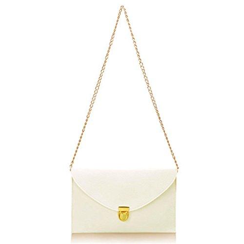 Ayliss Womens Envelope Clutch Chain Purse Handbag Fashion Candy Color Tote Shoulder - Cors Michael