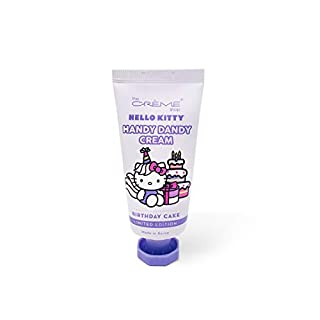 The Crème Shop Korean Cute Scented Pocket Portable Soothing Advanced Must-Have on-the-go - The Crème Shop x Sanrio Hello Kitty Handy Dandy Cream(Birthday Cake)