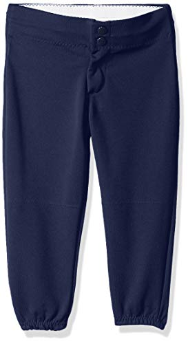 Alleson Athletic Womens Softball - Alleson Ahtletic Girls Fast Pitch Softball Pants, Navy, Small