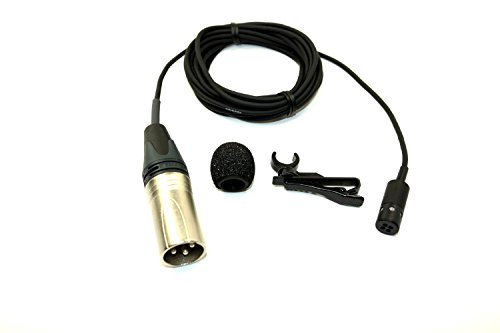 AT831R-SP - Audio Technica - Miniature Cardioid Condenser Instrument/Lavalier Microphone, 9.5 foot cable, 11-52V Phantom Power - for Use Where Feedback Or Room Noise Is A Problem