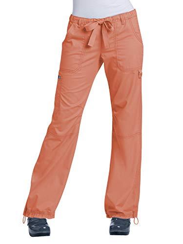 KOI Classics 701 Women's Lindsey Scrub Pant Papaya SP