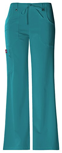 Coulisse xx Con large Moderno Donna Pant Cargo 82011p teal A Bassa Dickies Vita IOZfx