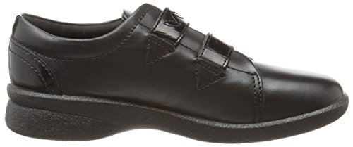 Padders Revive - Black Combi (leather) Scarpe Da Donna Nere
