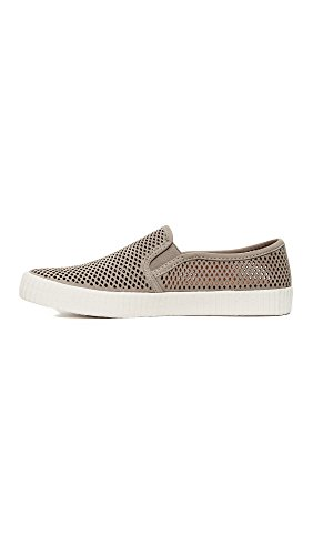 FRYE Perf Women's Fashion Sneaker Slip Camille Grey rqrCIE7wdx