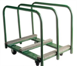 Sheet and Panel Truck, 38 In. L, Green (Sheet Mover Truck)