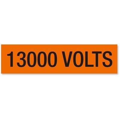 13000 Volts, Large (2-1/4