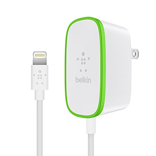 Belkin Boost Up Home Charger with 6-Foot Lightning to USB Charging Cable, White (2.4 Amps / 12 Watts) from Belkin