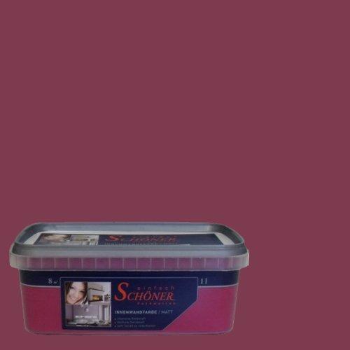 Wilckens Wandfarbe Einfach Schoner Farbwelten 1 L Himml Bordeaux