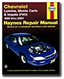 Haynes Chevrolet Lumina(95-01); Monte Carlo (FWD) (95-05); (FWD) Impala (00-05) Manual (24048)