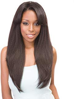 Janet Collection Synthetic Hair Wig Retro Glam&Vibe U Type 1B Straight Wig 22