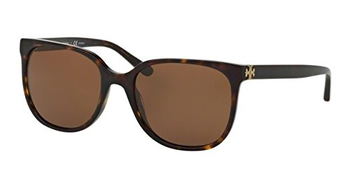 Tory Burch Women TY7106 57 Tortoise/Brown Sunglasses - Burch Men Tory