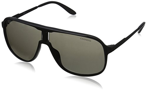 carrera-mens-new-safaris-aviator-sunglasses-matte-blackshinny-black-brown-gray-62-mm