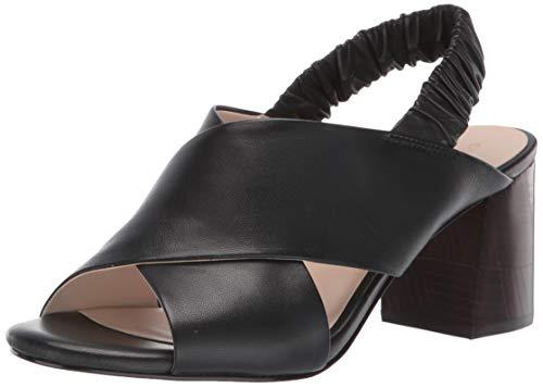 Cole Haan Women's Anastasia City Sandal (65MM), Black Leather, 7.5 B US (Haan Cole Sandals Black)