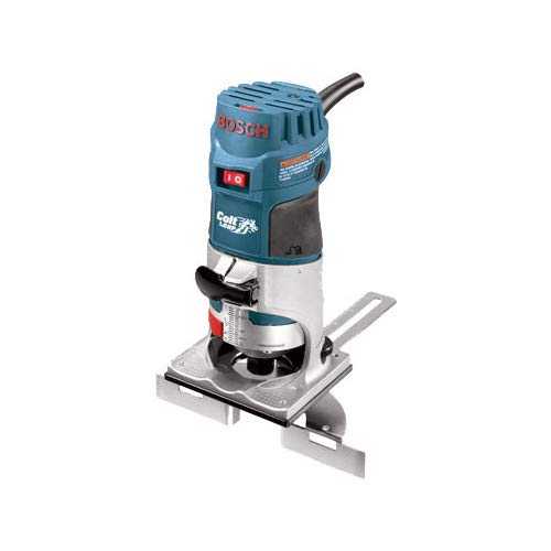 Bosch PR20EVSK-RT Colt Palm Grip 5.7 Amp 1-Horsepower Fixed Base Variable Speed Router with Edge Guide (Renewed) (12v Bosch Refurbished)