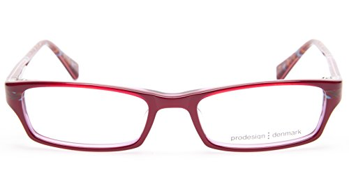 NEW PRODESIGN DENMARK 1678 c.4022 RED EYEGLASSES FRAME 47-16-125 B23mm - Glasses Prodesign