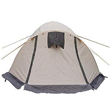 Bloomerang DoubleLayer Triple Outdoor Camping Tent for 3 Person