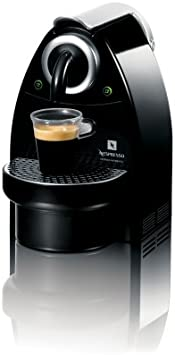 Nespresso C100 Essenza Single-Serve Automatic Espresso Machine, Piano Black