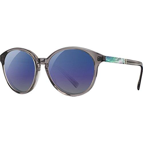 Shwood Bailey Acetate Sunglasses | Smoke & Abalone Shell / Blue Flash - Sunglasses Bailey