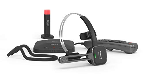 Speech Recognition Remote - Philips SpeechOne Wireless Dictation Headset, Docking Station, Status Light and Remote Control