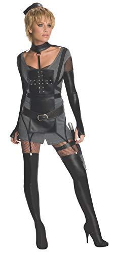 Secret Wishes Womens Sucker Punch Rocket Costume, Black, Medium -