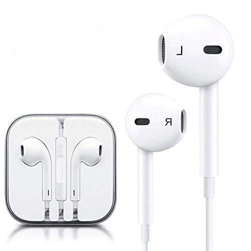 DGSTAR Earbuds Headphones, in-Ear Earbuds Noise Isolation Headsets Heavy Bass Earphones with Microphone Compatible iPhone Samsung iPad and Most Android Phones