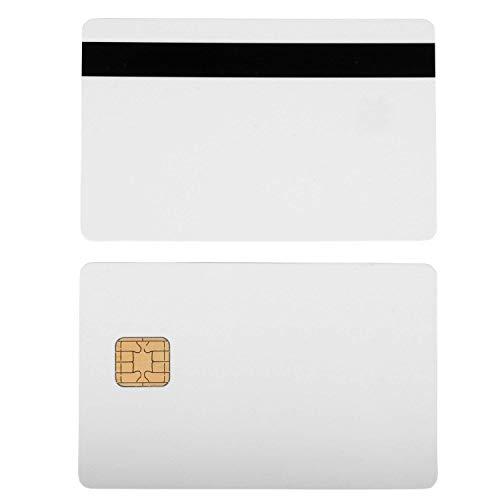 J2A040 Chip Java JCOP Cards w/HiCo 2 Track Mag Stripe JCOP21-36K - 10 Pack (Emv Card)