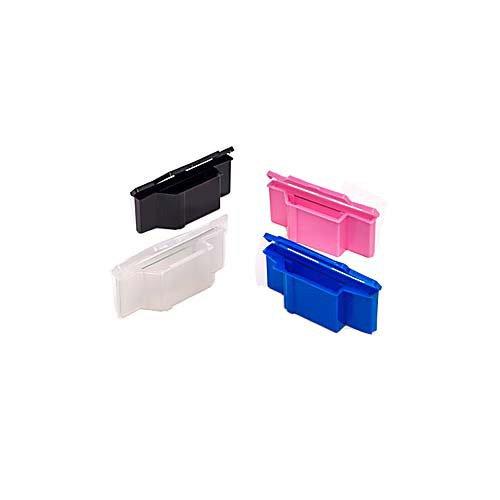 Evergreen 240-3800-P30 Polypropylene Slide Sette Saver Pink Pack of 100 Thomas Scientific
