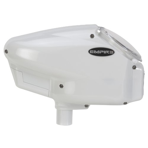 Empire Halo TOO Paintball Loader - SE White