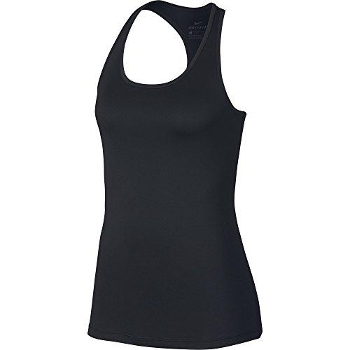 NIKE Women's Dry Balance 2.0 Training Tank, Black/White, Large