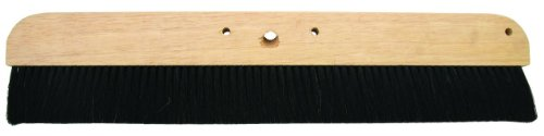 Concrete Broom - MARSHALLTOWN The Premier Line 6598 36-Inch Horsehair Concrete Finishing Broom