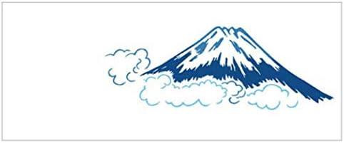 [江戸てん]手ぬぐい 注染 梨園染 綿100% 日本製 富士山(白地)