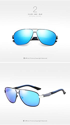 Sol Gafas de 5 Hombres de Gafas Moda UV400 HD de Ruanyi Color de 1 de de Las los Muchachas Sol Personalidad la de de conducción Gafas Las xqx7Y8wFH