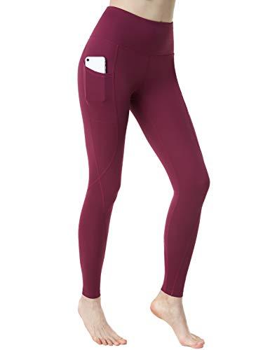 TSLA Yoga Pants Mid-Waist/High-Waist Tummy Control...