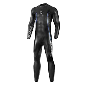 Synergy Triathlon Wetsuit 5/3mm – Men's Endorphin Full Sleeve Smoothskin Neoprene for Open Water Swimming Ironman & USAT…