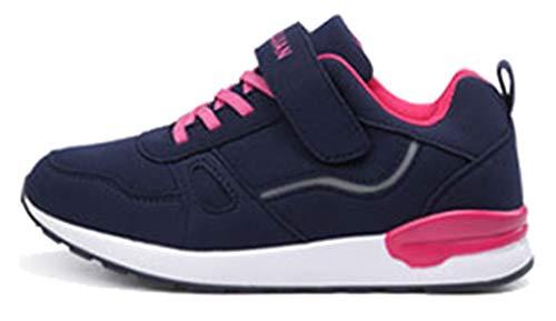Seaoeey - Zapatillas de Running de competición Mujer Azul