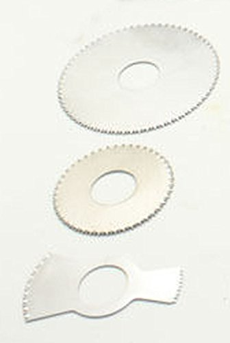 One set Saw Blades 3PCS for Medical Electric Plaster Saw Cast Cutter Orthopedic Sports Medicine Diameter : 43mm(Round) 52mm(sector) 64mm(Round) by T-king