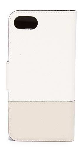 Kate Spade New York Leather Wrap Folio iPhone 7 Case / 8 Case, Cement/Tusk, iPhone 7 by Kate Spade New York (Image #2)