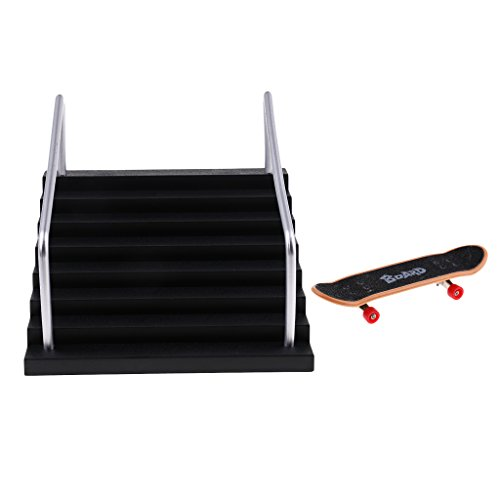 [해외]MonkeyJack Finger Skateboard Fingerboard Ramps for Deck Finger Board Scooter Kids Toy #E / MonkeyJack Finger Skateboard Fingerboard Ramps for Deck Finger Board Scooter Kids Toy #E