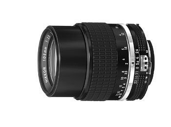 Nikon 105mm f/2.5 Ai-S Manual Focus - On Hairline Scratches Glasses