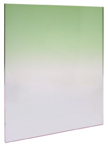 Polaroid Green Graduated Color Square Filter Compatible with Polaroid & Cokin P Series Square Filter Holders