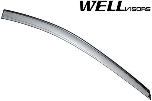 Wellvisors Rain Sun Deflectors For Subaru XV Crosstrek 13-17 Impreza Sport 12-16