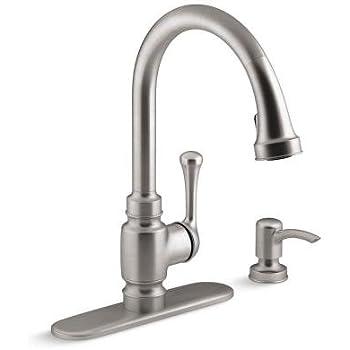 Kohler K R72511 Sd Vs 2 Hole Kitchen Faucet With 15 1 2