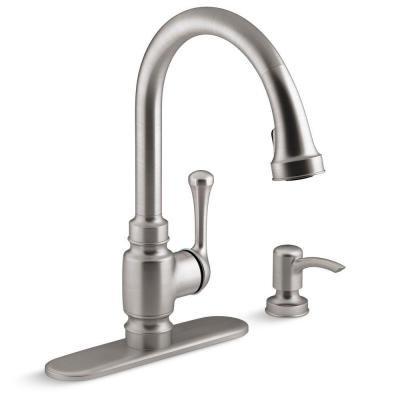 Kohler Carmichael Kitchen Faucet Stainless Steel - Edge Kitchen Faucet
