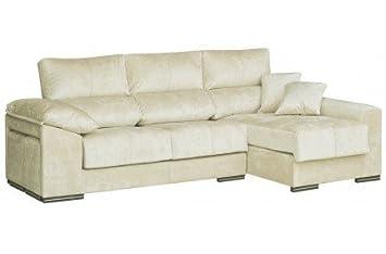 SHIITO Sofa Dos plazas más chaiselongue Derecha. Tapizado ...
